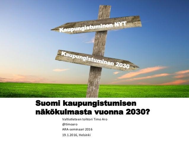 suomi vuonna 2030 Alavus