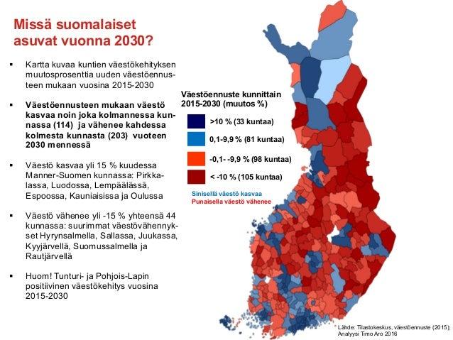 Suomen Kaupungistuminen