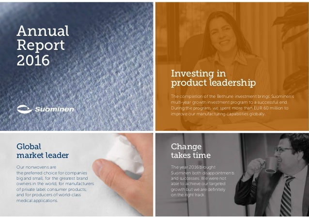 which of the following is not a part of a corporation's annual report?