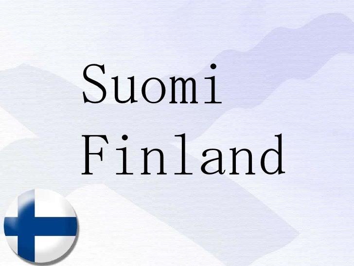 Suomi Finland<br />