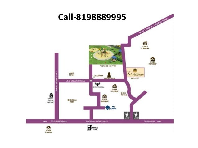 Suparas Homz Kalmia Floors Mohali Brochure Location