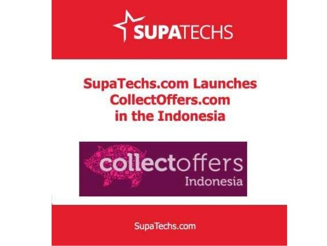 Supatechs.com launches CollectOffers.com in the Indonesia India-based Supatechs.com, a fast growing online startup develop...