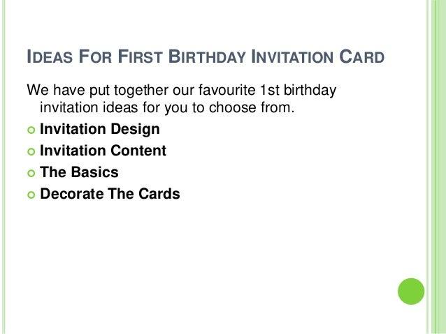 Surprising Super Fun Ideas For First Birthday Invitation Card Funny Birthday Cards Online Fluifree Goldxyz