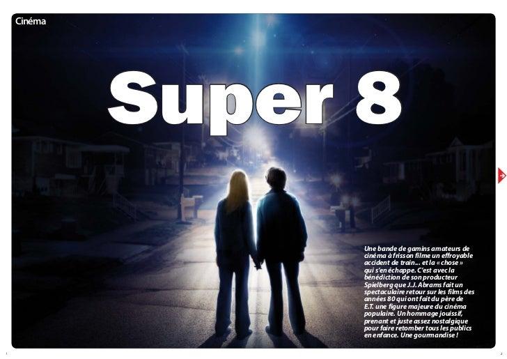 Cinéma             Super 8                                                            è                   Une bande de gam...