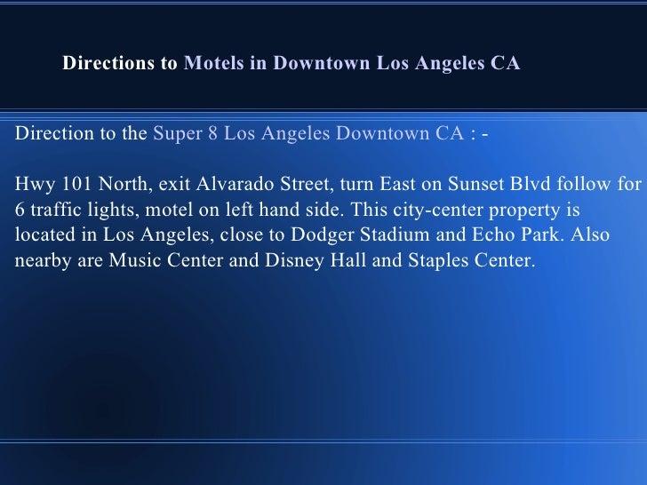 Motels Near Disneyland Los Angeles
