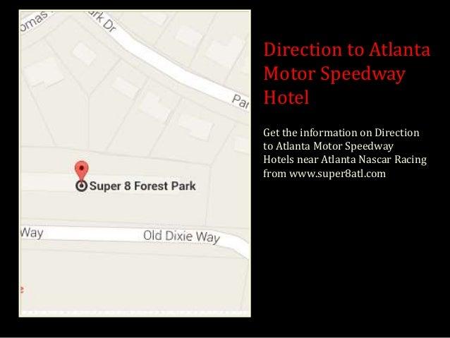 Super 8 on i 75 near atlanta airport for Atlanta motor speedway hotels