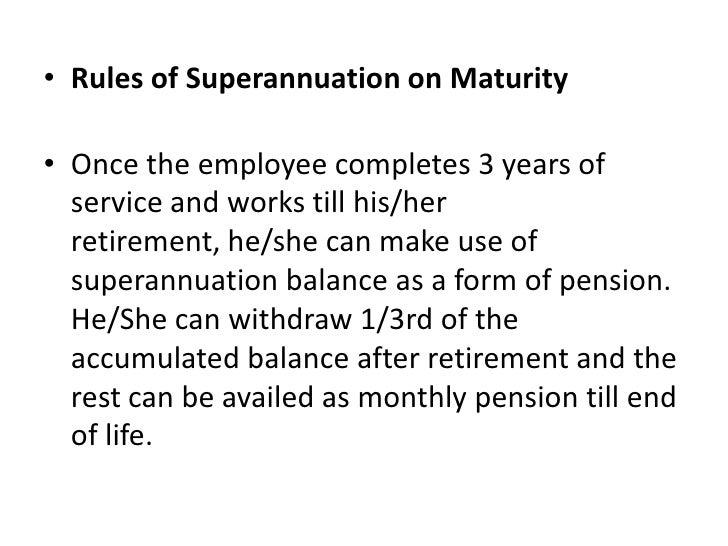 super annuation schemes 8