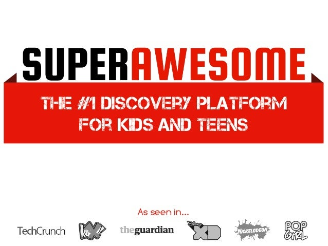 The #1 discovery platform for kids and teens As seen in...