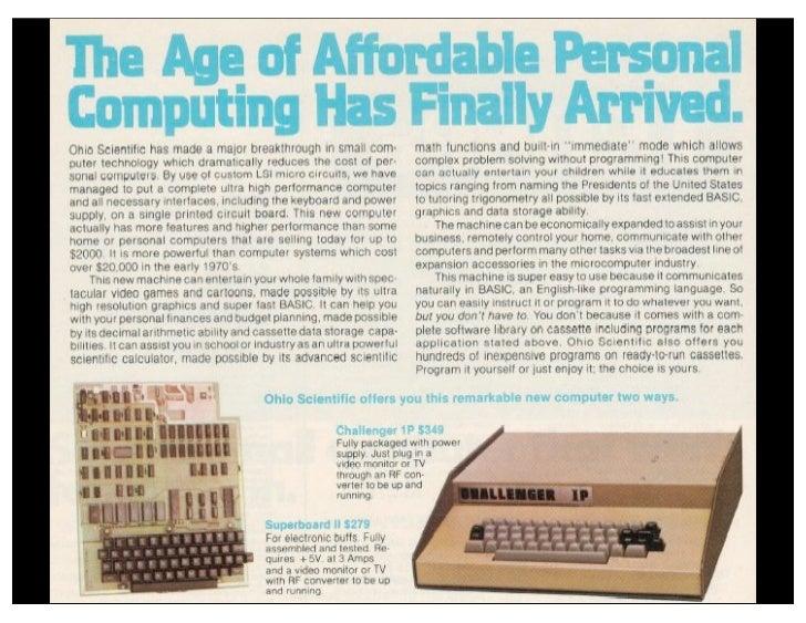 Byte Magazine, January, 1979