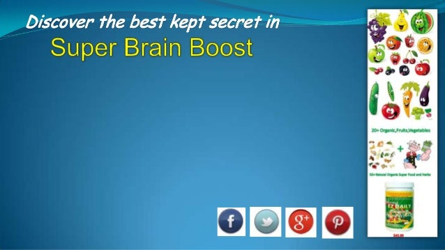 EZ Super Brain Boost+ Reduces Stress+ Increases levels of glutathione+ Improve cognition and boost mood+ Increases blood f...