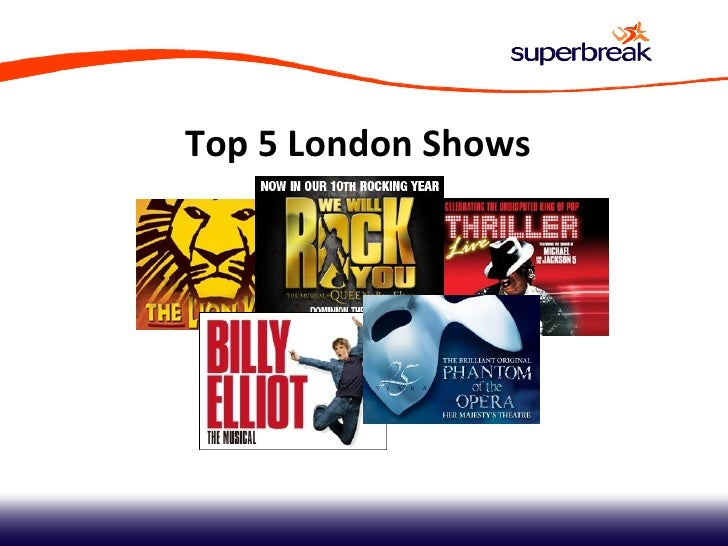 Top 5 London Shows