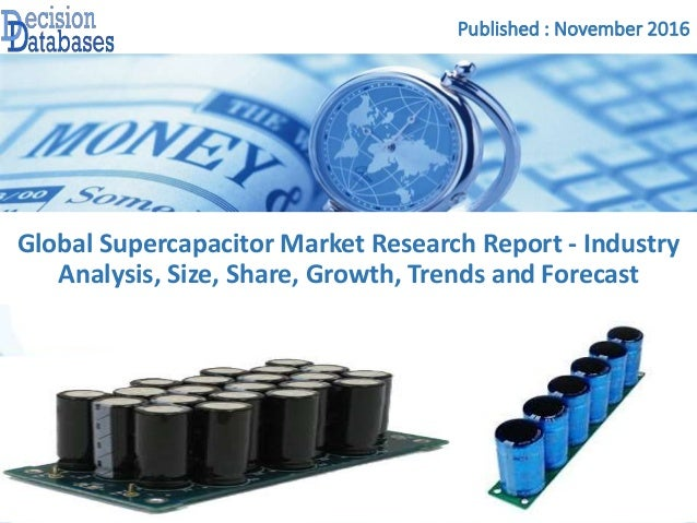 Supercapacitor Market Report:Industry Growth, Trends and ...
