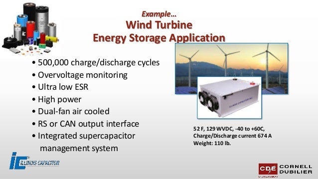 Supercapacitor module applications for customers