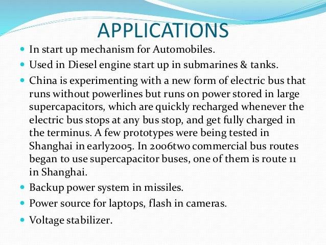Supercapacitors ppt hhd