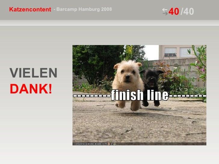 VIELEN  DANK! /40