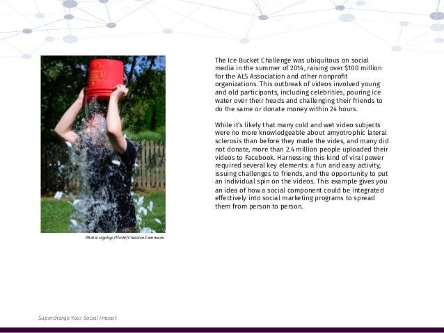The Ice Bucket Challenge was ubiquitous on social media in the summer of 2014, raising over $100 million for the ALS Assoc...