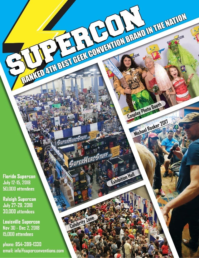 Supercon Sponsor and Exhibitor Information