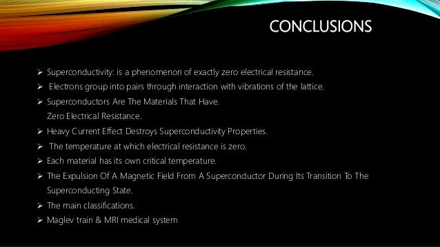 superconductivity and its applications essay Com - news, views and information for the global physics an analysis of superconductivity and its applications community from institute of physics publishing ee times connects the global an analysis of superconductivity and its applications electronics community through news, analysis, education, and peer-to-peer discussion around technology, business, products and design in this section, a .