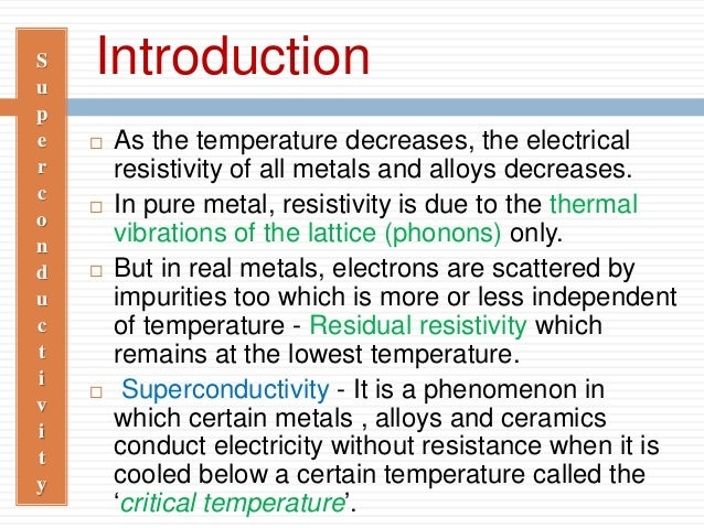 Superconductivity Slide 2