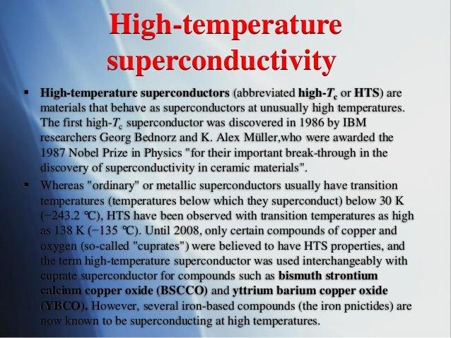 Superconductivity And New Superconductors
