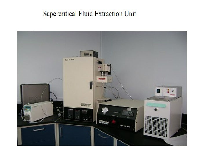 supercritical fluids sfcs supercritical fluid extraction Online supercritical fluid extraction-supercritical fluid chromatography (online  sfe-sfc) system is that directly connects the supercritical fluid extraction (sfe).