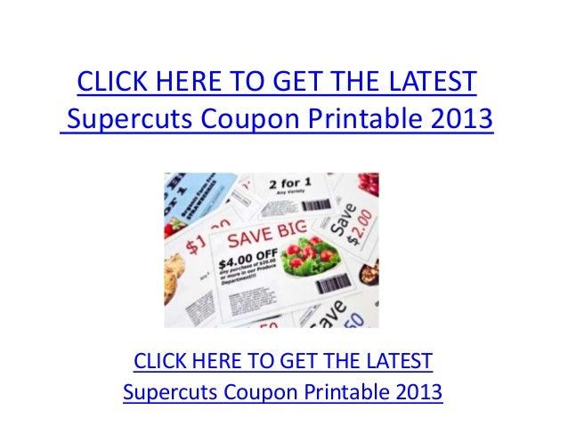 photo regarding Supercuts Printable Coupons identify Supercuts Coupon Printable 2013 - Supercuts Coupon Printable