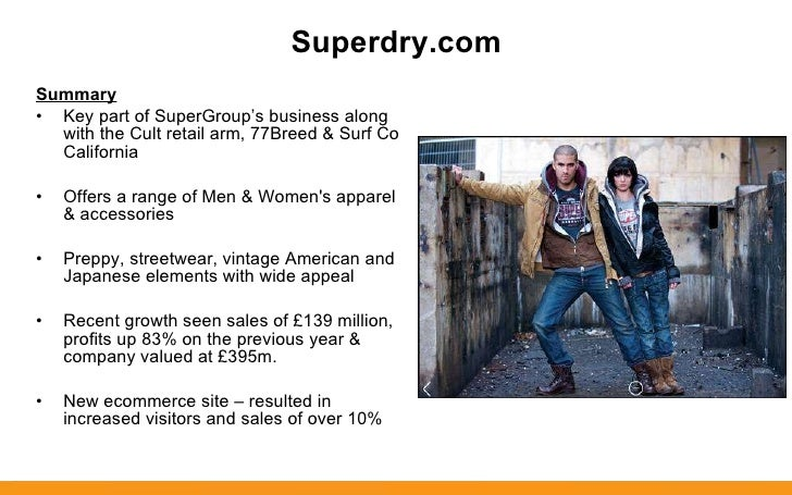 Superdry brand analysis essay