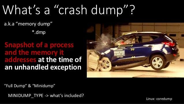 Large Scale Crash Dump Analysis with SuperDump Slide 3
