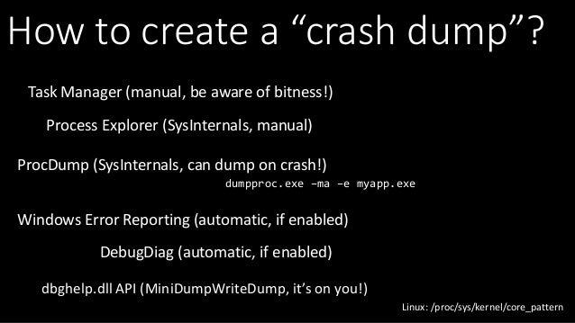 Large Scale Crash Dump Analysis with SuperDump