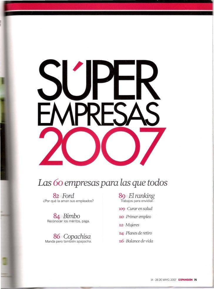 Super Empresas2007