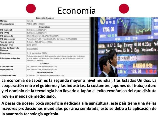 economia de japon essay The essay outlines the evolution of the bilateral relationship and japan's  importance  riormente, tras el acuerdo plaza de 1985, la economía japonesa  experi.