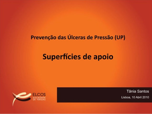 Prevenção das Úlceras de Pressão - Superficies de apoio
