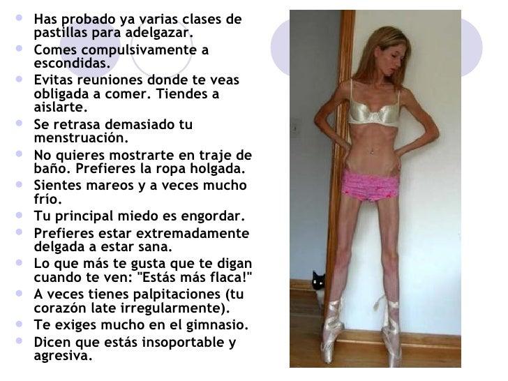 Tips para adelgazar ana y mia anorexia