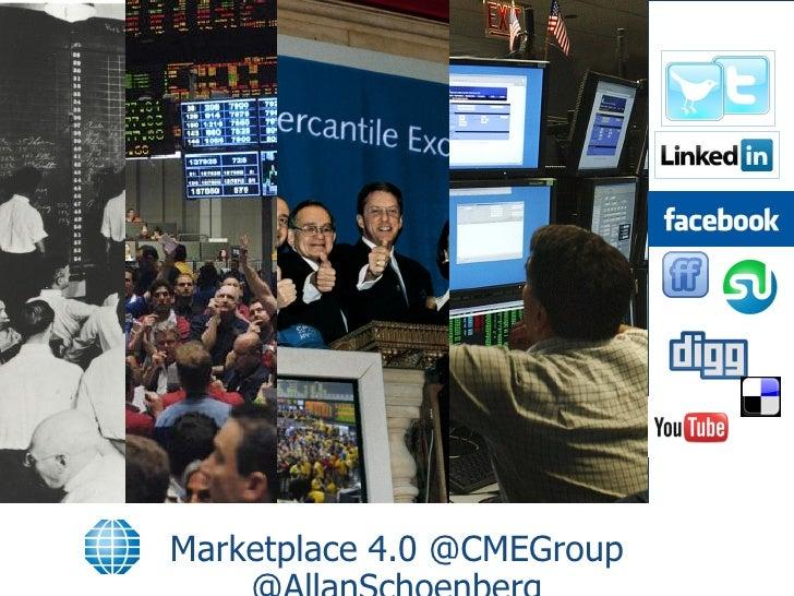 Marketplace 4.0 @CMEGroup