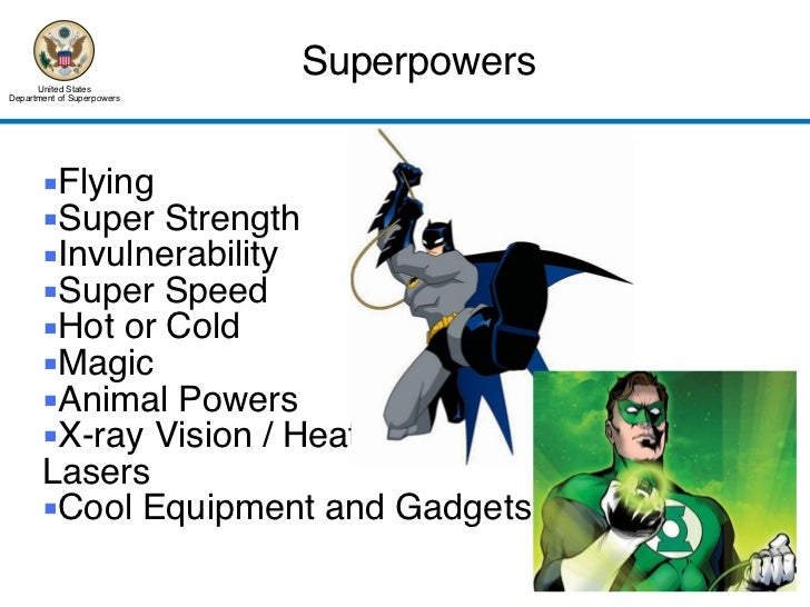 Superhero Academy Opening Lecture