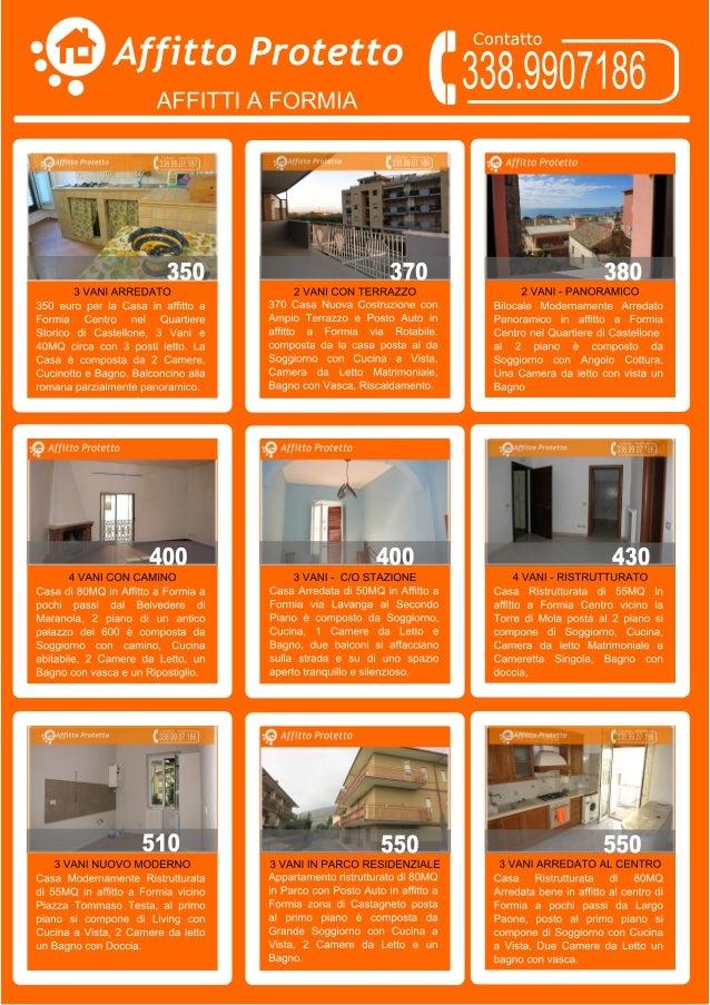 Nuove case in affitto a formia for Nuove case vittoriane