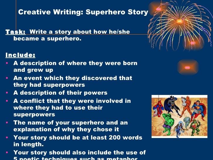 How to Write a Superhero Story
