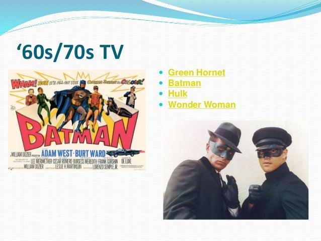 '60s/70s TV  Green Hornet  Batman  Hulk  Wonder Woman