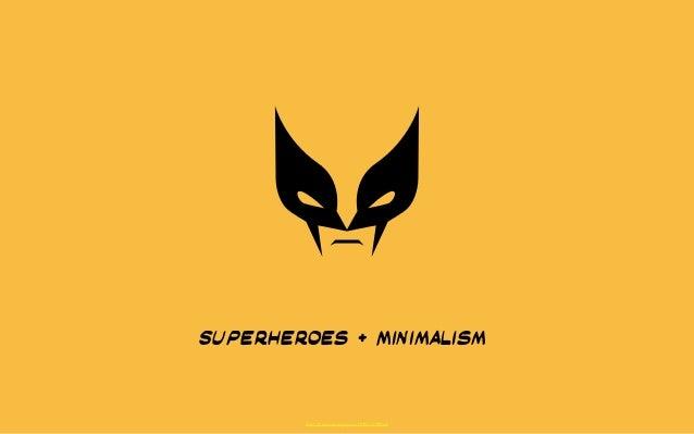 Superheroes + Minimalism  http://thenounproject.com/Mikhail1986/#