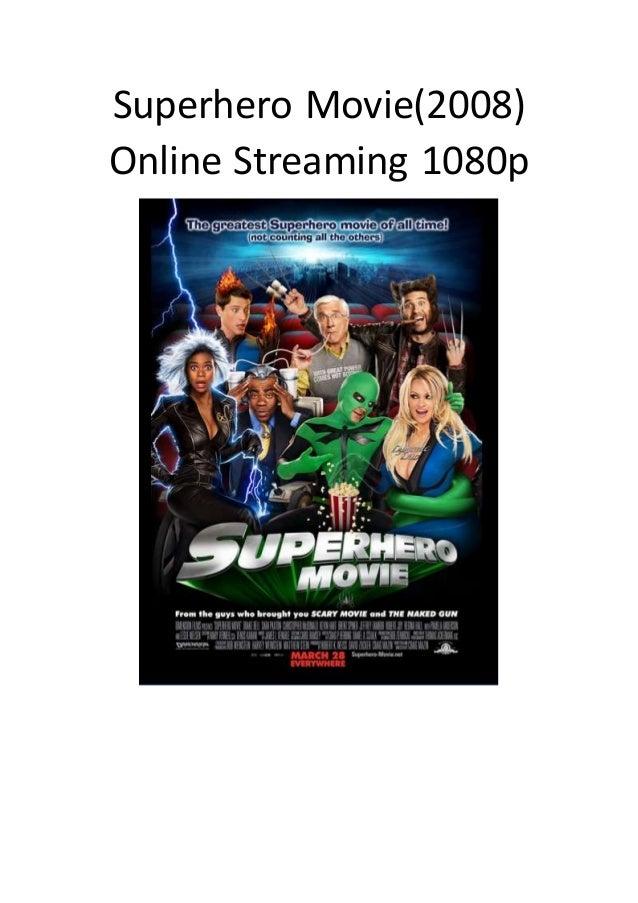 Superhero Movie Stream