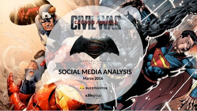 CIVIL WAR VS BATMAN V SUPERMAN EN REDES SOCIALES Powered by