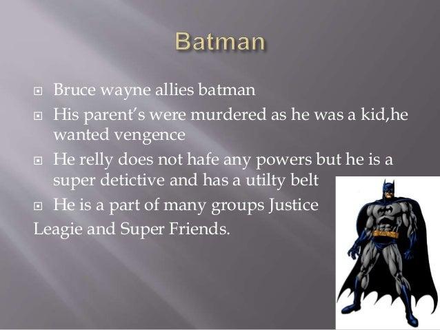 superhero powerpoint