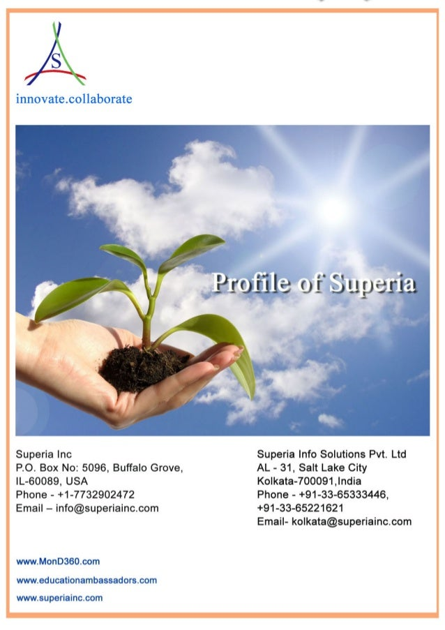 Superia brochure