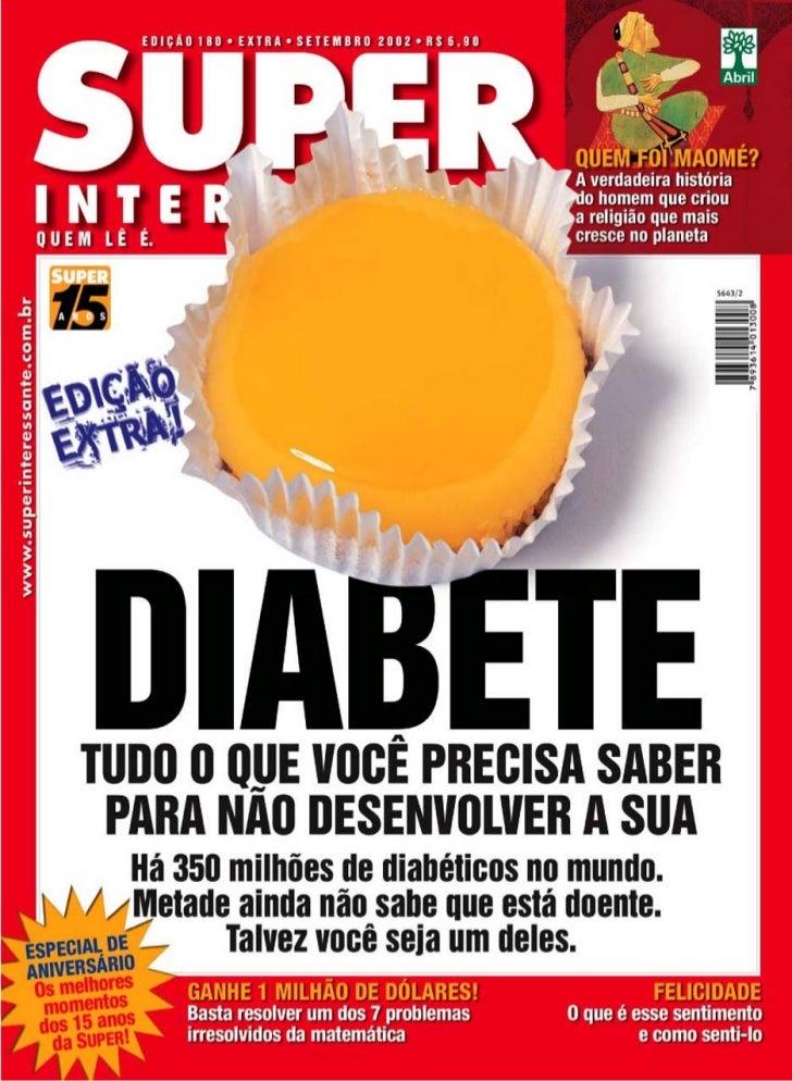Super interessante nº 180   diabete - tudo que voce precisa saber - edição extra