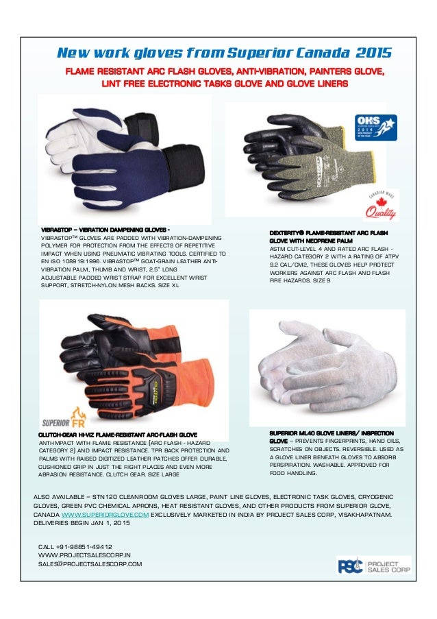 07792f5593ee Arc Flash Resistant Impact Protection Gloves
