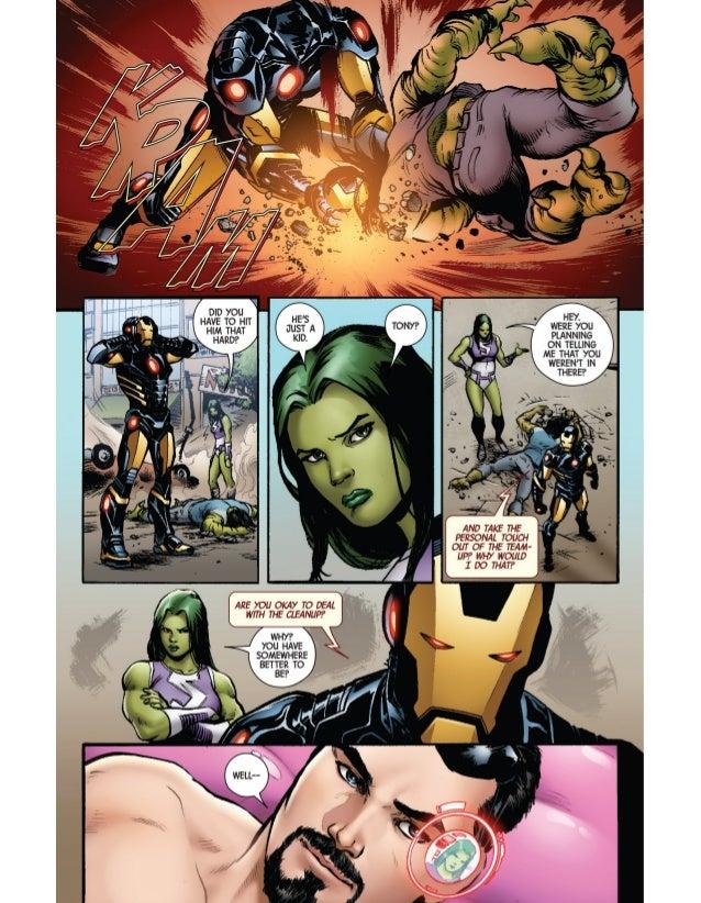 Iron Man porno Comics