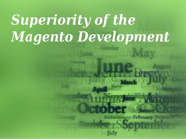 Superiority of theMagento Development