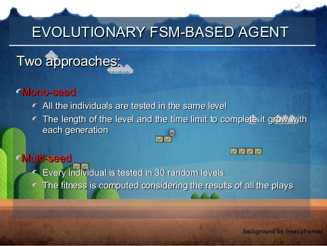 FSM-Based Agents for Playing Super Mario Game