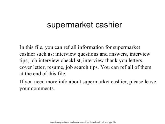 supermarket-cashier-1-638 Job Application Letter Cashier Position on intent apply for internal, reference for, interest for new, intent internal,
