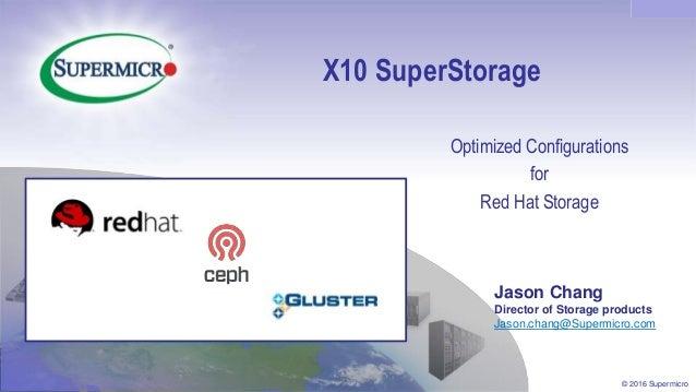 Red Hat Storage Day Atlanta Supermicro Superstorage